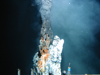 hydrothermal vent Fe-oxides